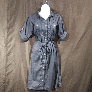 Gap Blue Tie Dress